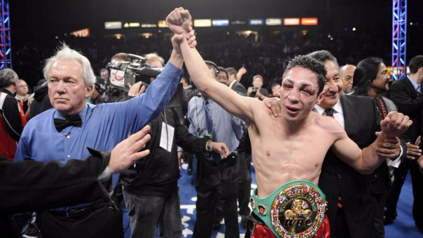 Retired boxer Israel Vazquez, 38, will lose eye from ring damage
