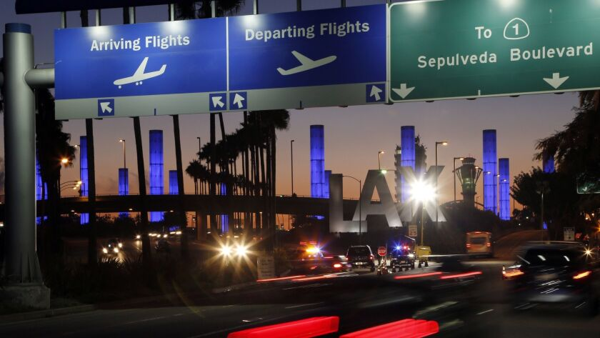 Aviation support company plans 830 layoffs at LAX - Los