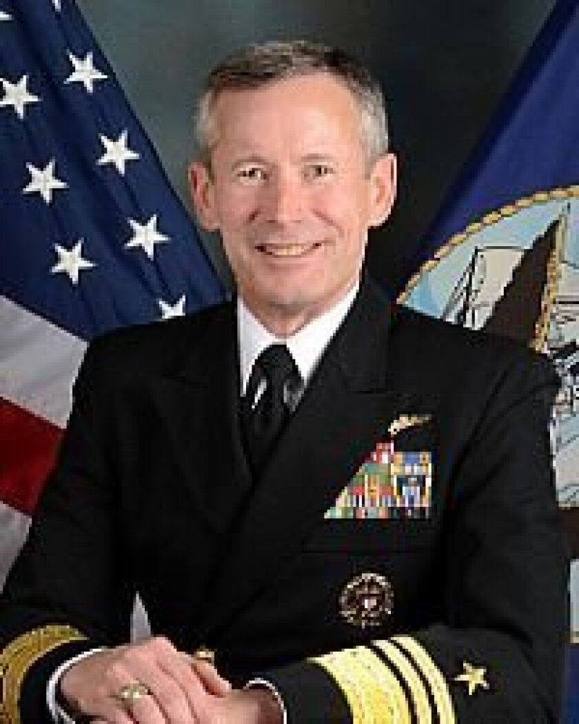 Vice Admiral Ted N. Branch