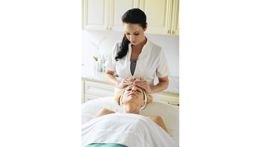 """Esthetician Emme Diane has 18 years of experience in both medical and spa esthetics. She is known to her clients as the """"Skin Whisperer,"""" as she solves skin concerns ranging from acne and sun damage to aging skin."""