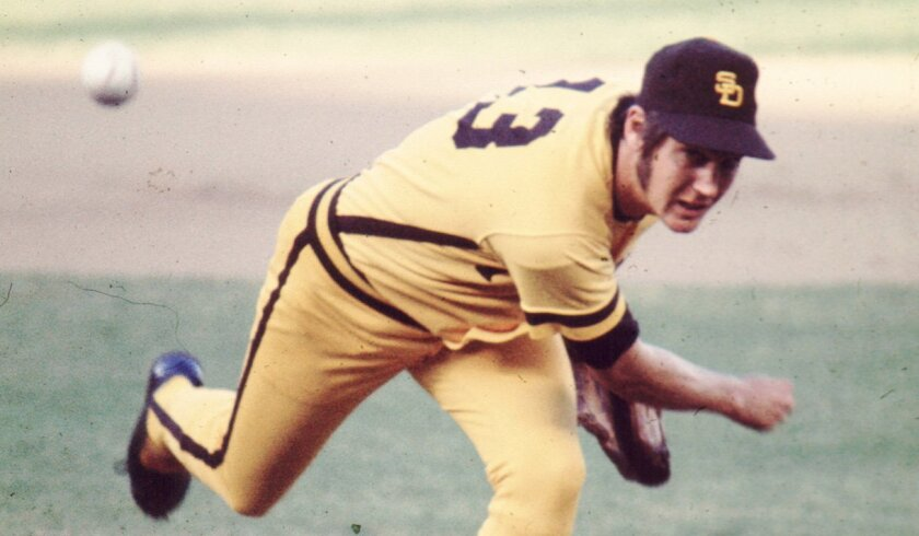 There are those who believe the Padres have been cursed for throwing a no-hitter ever since 1970, when original manager Preston Gomez pulled Clay Kirby (above) for a pinch hitter after eight no-hit innings against the Mets.