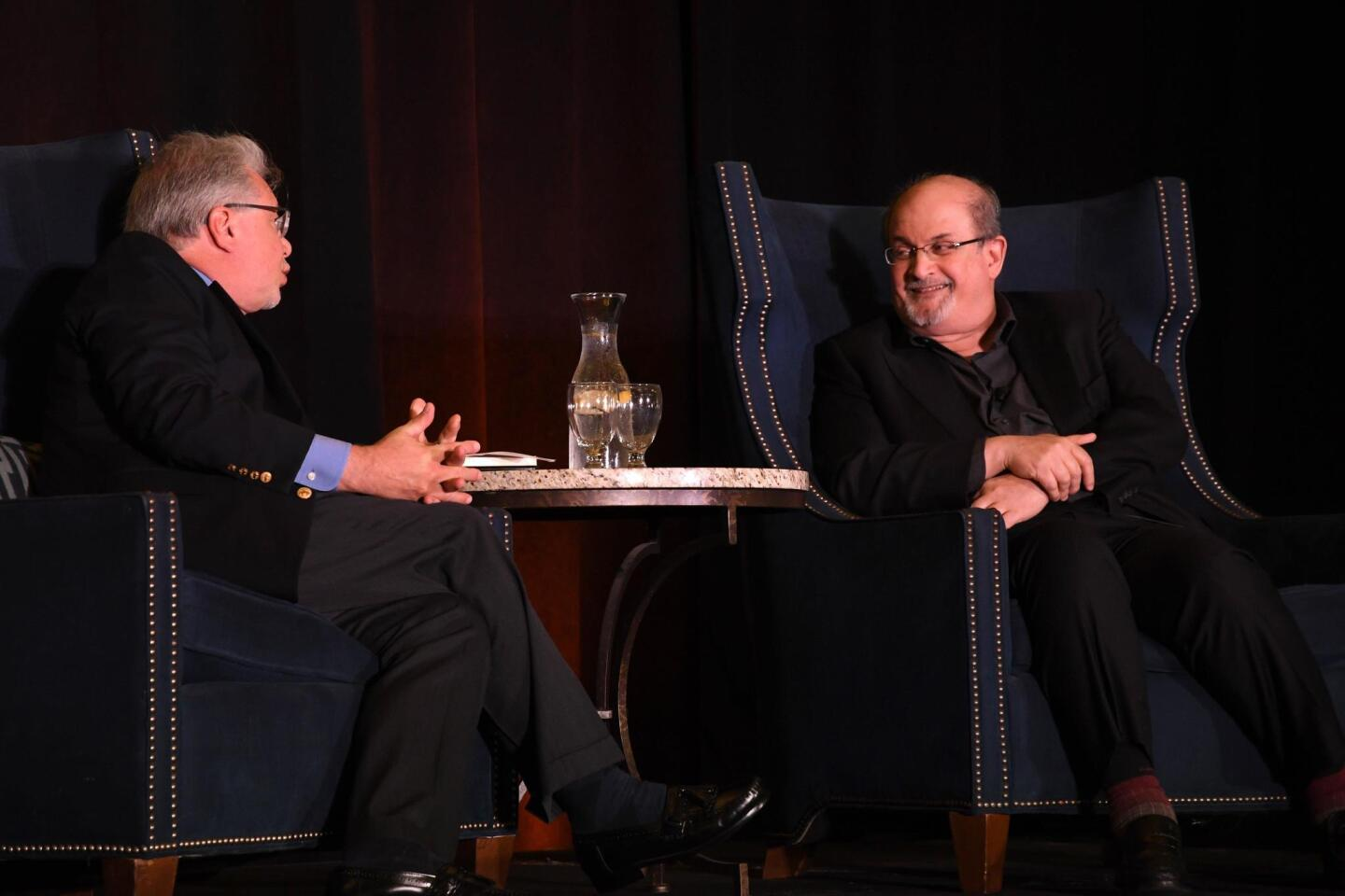 Words Alive event features author Salman Rushdie