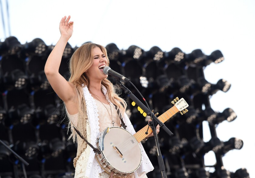 Ruthie Collins at 2016 Stagecoach Festival