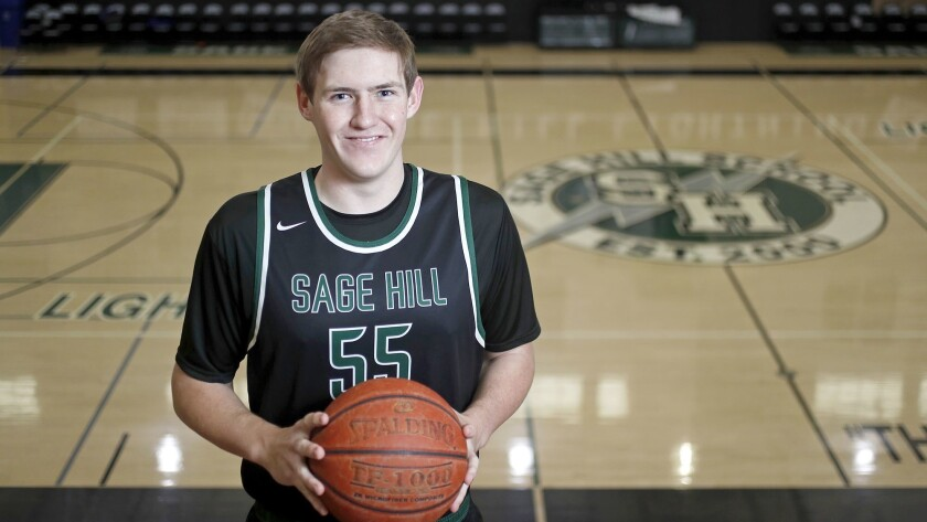 Sage Hill School senior center Johnny King is the Daily Pilot High School Male Athlete of the Week.