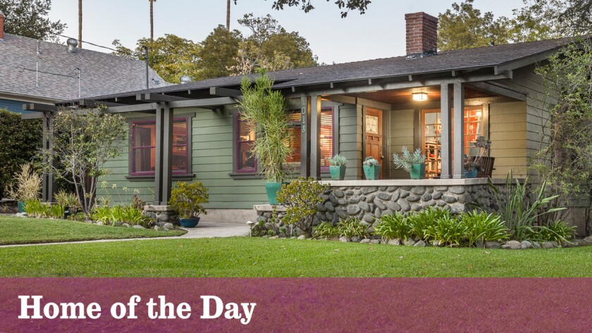 Home of the Day: Classic details in Pasadena's Bungalow Heaven