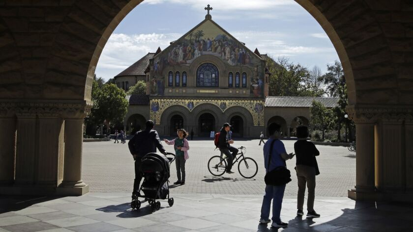 Stanford kicks out student as fallout from college admissions scandal grows