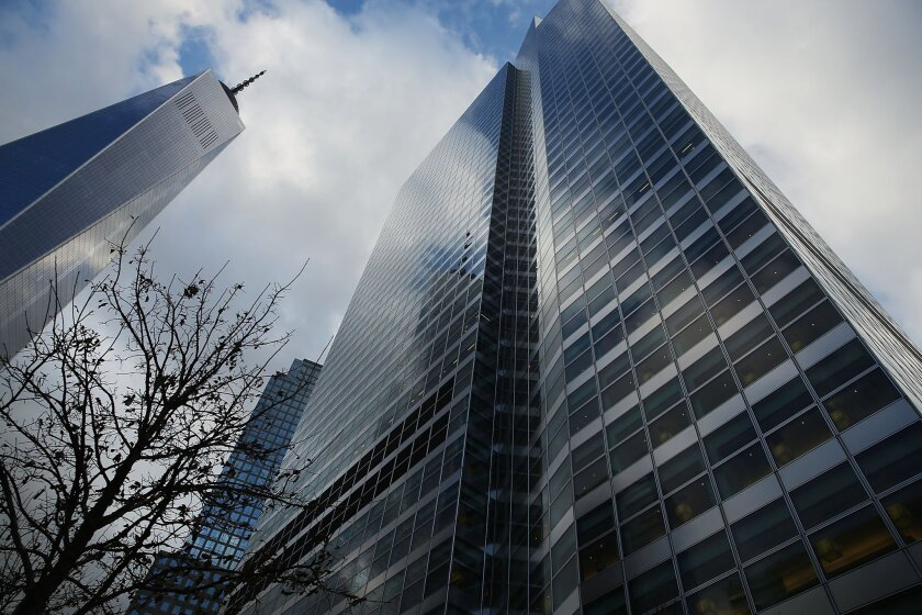 """Goldman Sachs headquarters in New York City. Former CEO Lloyd Blankfein tweeted that """"extreme measures"""" to address coronavirus were sensible but """"within a very few weeks let those with a lower risk to the disease return to work."""""""