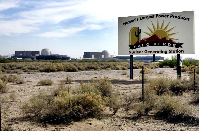 Palo Verde Nuclear Generating Station in Wintersburg, Ariz., is shown  in 2007.
