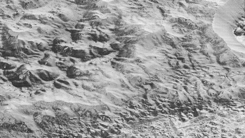 'Pluto's Badlands'