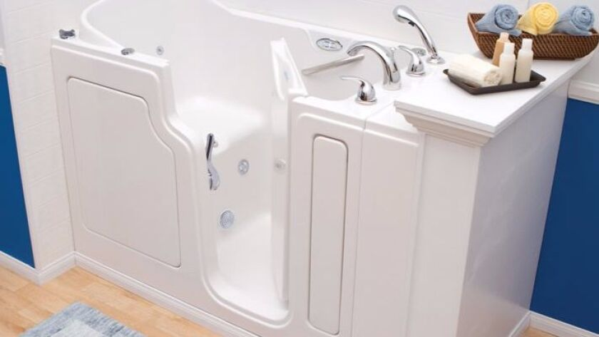 Safe Step walk-in bath