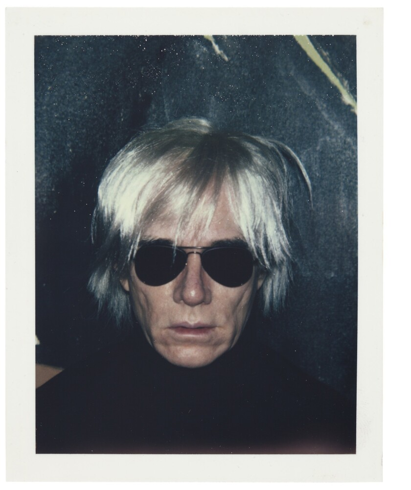Andy Warhol online auction is prime turf for celebrity-gawking