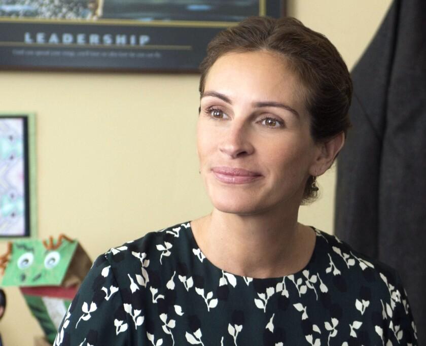 La actriz Julia Roberts visitó hace unas semanas el albergue La Pequeña Haití, a petición de UNICEF.
