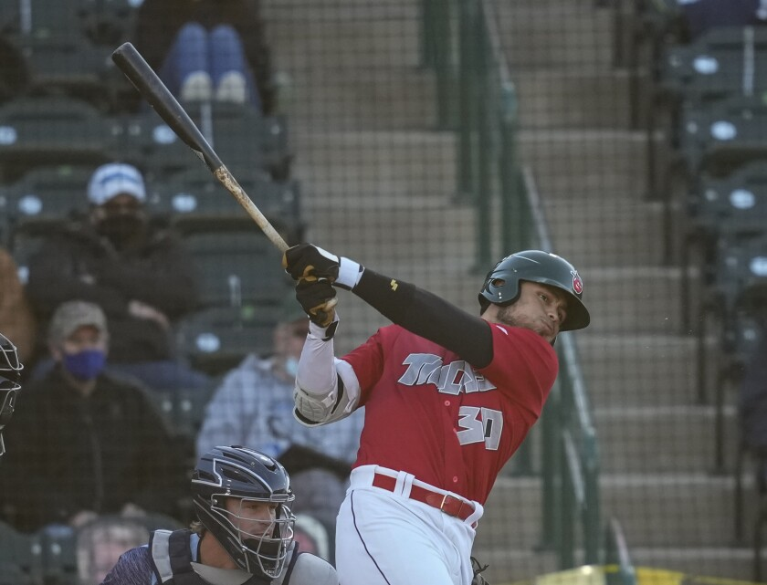 Padres outfield prospect Tirso Ornelas began 2021 at high Single-A Fort Wayne.