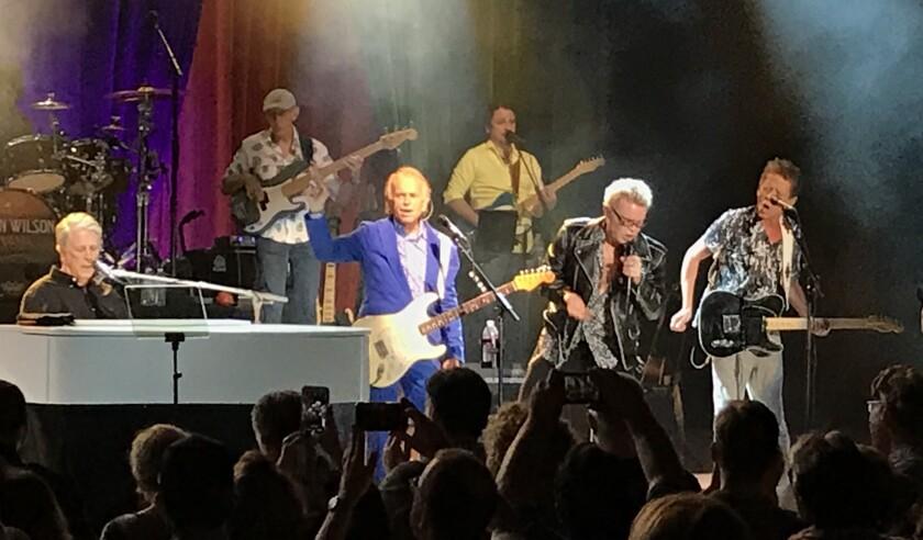 Brian Wilson and Billy Idol