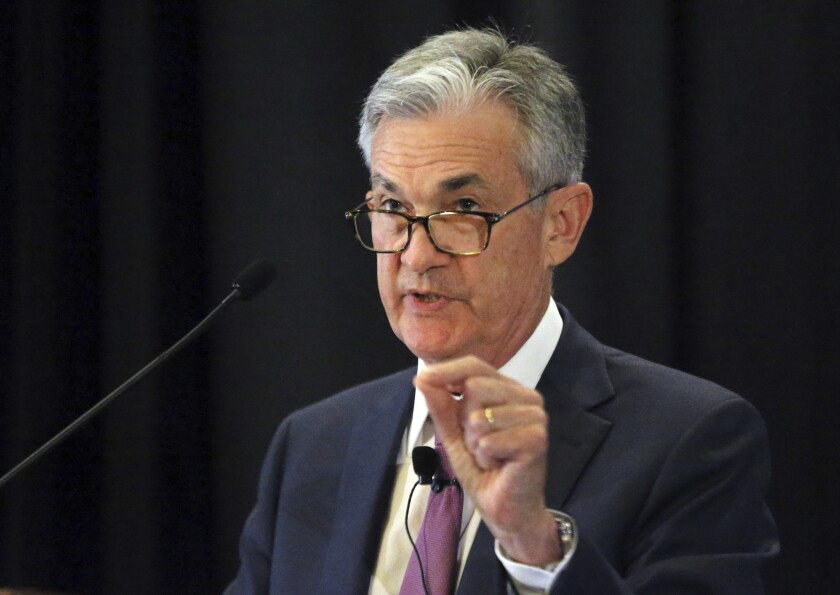 Federal Reserve Chairman Jerome H. Powell is shown in 2018.
