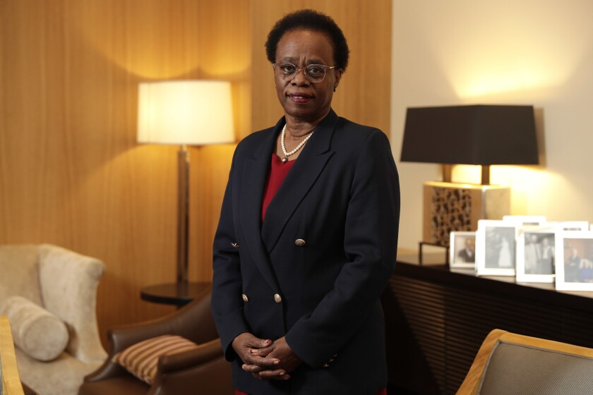 Dr. Wanda Austin, 64, was appointed interim president of USC in August — the first woman to lead the university and the first person of color.