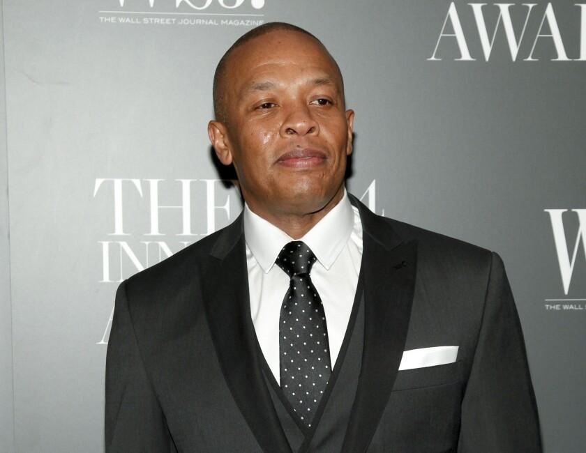 Rapper Dr. Dre