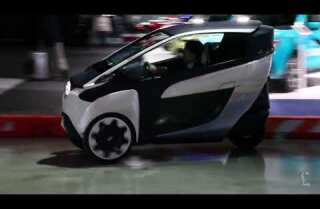 L.A. Auto Show: The Toyota iRoad