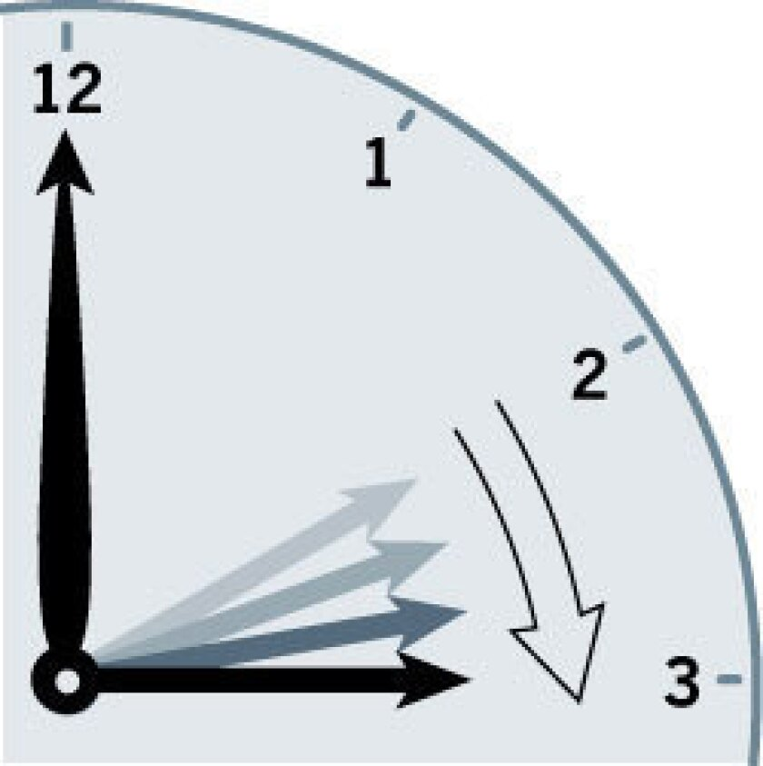 Daylight saving time is coming up. Be ready for the time change.