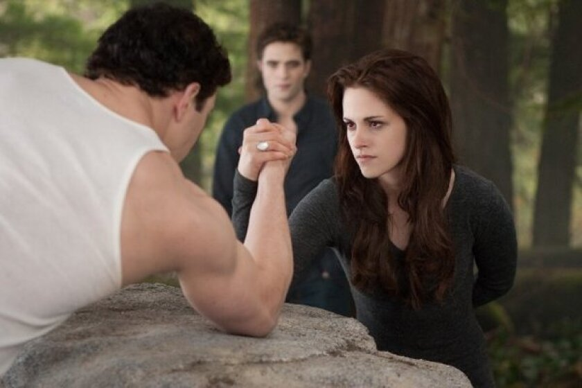 "'The Twilight Saga: Breaking Dawn -- Part 2"" ruled the Thanksgiving box office."
