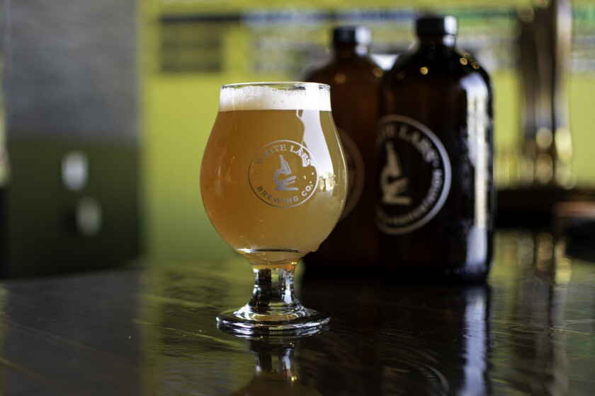 White Labs is a major supplier of brewer's yeast, and also operates a unique brewery and tasting room in Miramar.