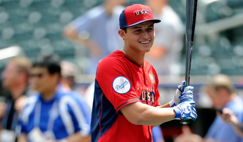 Corey Seager, the Dodgers' prized 20-year-old shortstop, was promoted to double-A Chattanooga last season after 80 games at Class A Rancho Cucamonga.