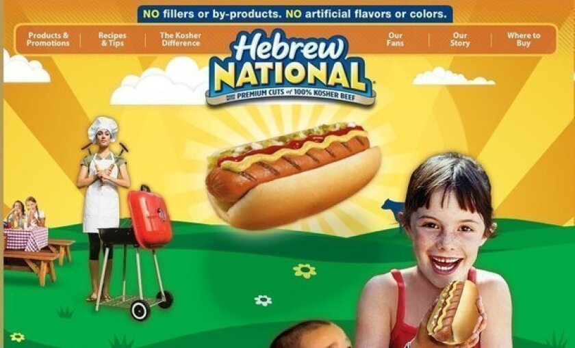 ConAgra says that a lawsuit claiming its Hebrew National products aren't kosher is without merit.
