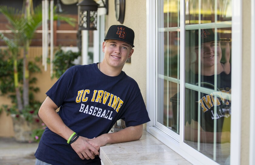 Huntington Beach High junior left-handed pitcher Ben Jacobs has committed to UC Irvine for baseball.