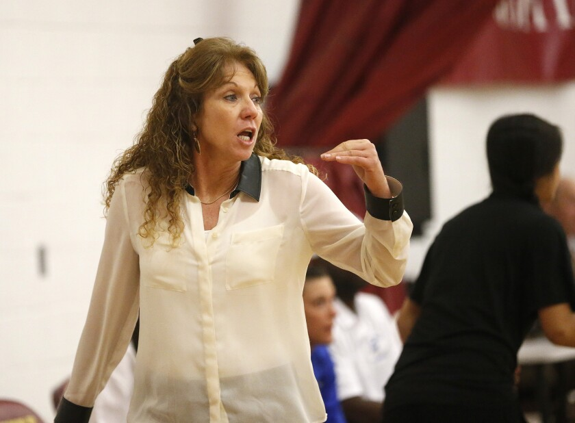 La Jolla Country Day girls basketball coach Terri Bamford's Torreys are ranked No. 1 in the San Diego Section.