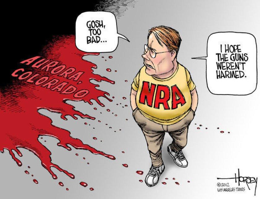 The NRA cares about guns, not Colorado massacre victims