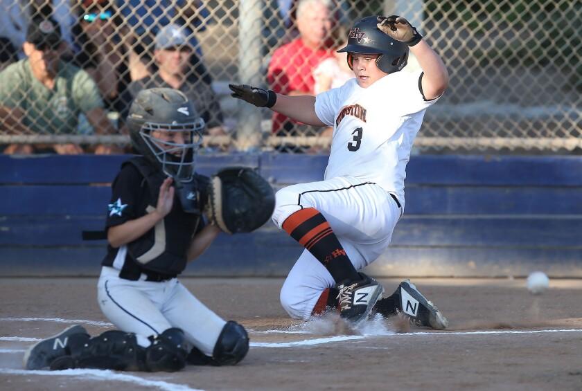 Huntington Valley Little League's Owen Bone
