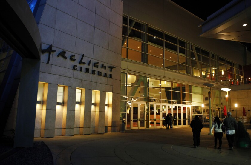 Arclight Cinemas movie theater in Hollywood in 2013.
