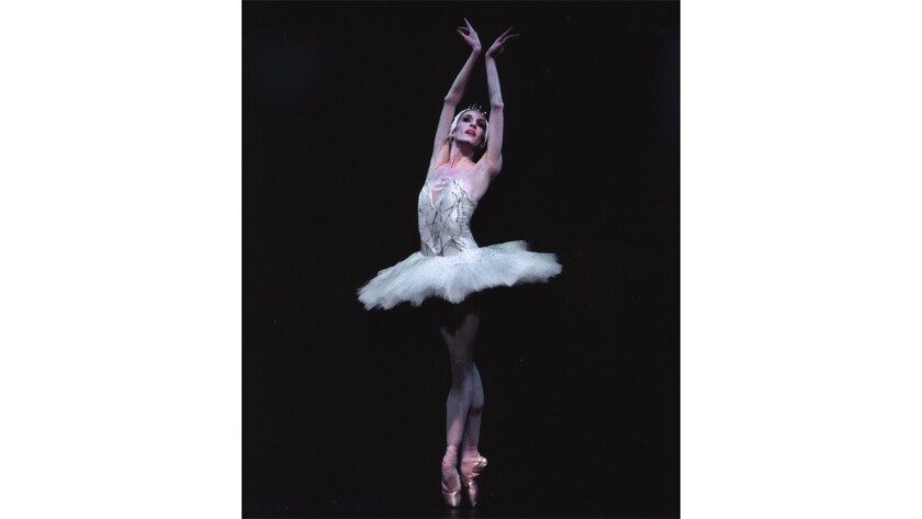 Wendy Whelan in New York City Ballet's 'Swan Lake'