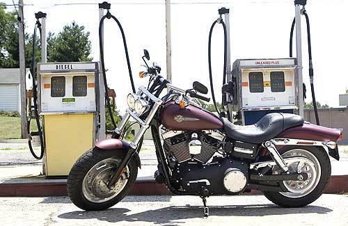 Harley's new Fat Bob