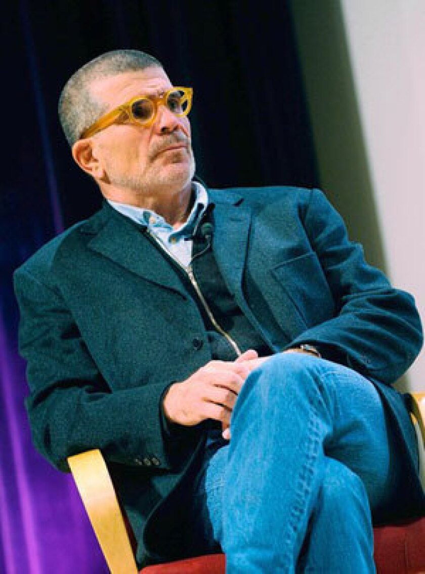Playwright David Mamet.