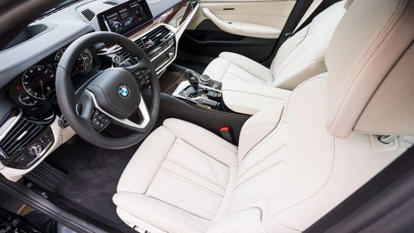 2018 BMW 540i: Business before pleasure - The San Diego