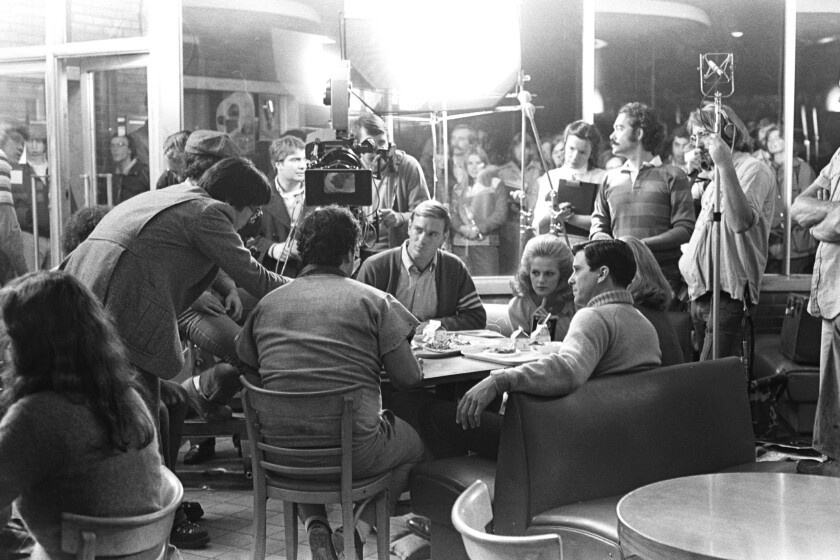 """The """"Animal House"""" cafeteria scene"""