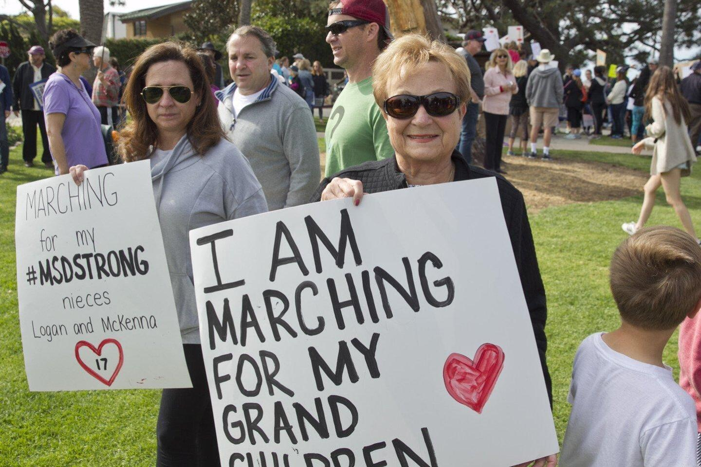 March for Our Lives protest held in Encinitas