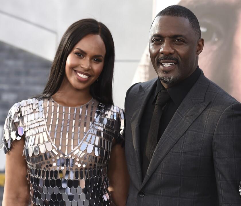 Virus Outbreak Idris Elba