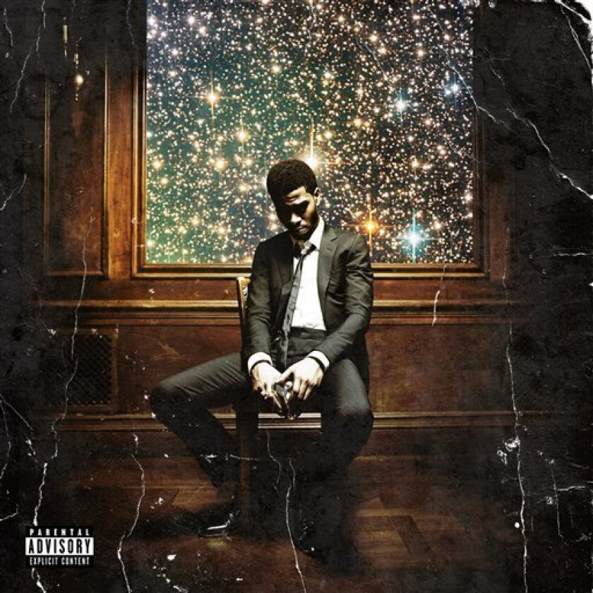 "In this CD cover image released by Universal Motown, the latest release by Kid Cudi, ""Man on the Moon II: The Legend of Mr. Rager"" , is shown. (AP Photo/Universal Motown)"