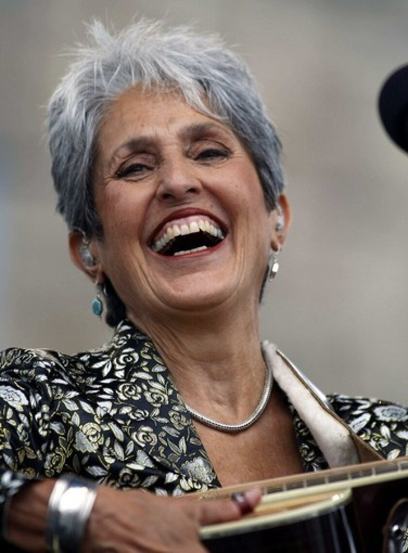 Review American Masters Joan Baez How Sweet The Sound On Pbs Los Angeles Times