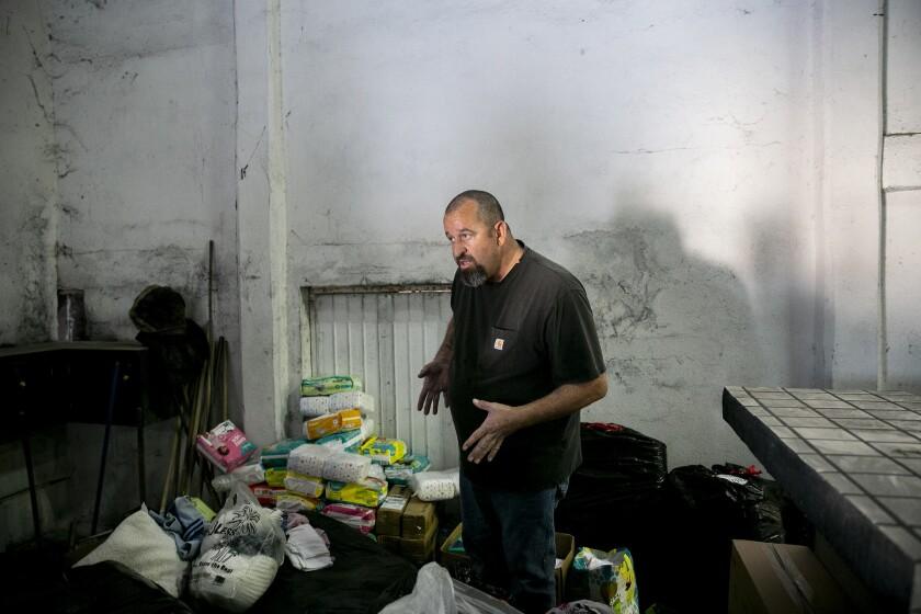 Volunteers Deliver Goods to Migrants in Tijuana