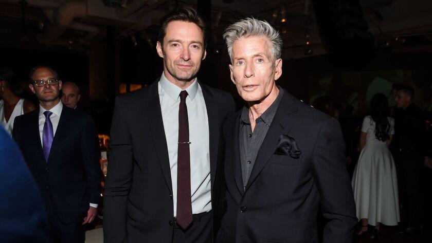 Hugh Jackman and Calvin Klein