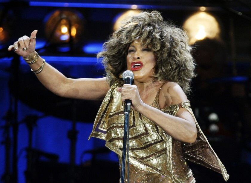 Tina Turner performs on stage during her concert at the Hallenstadion venue in Zurich, Switzerland, in 2009. Reports say that the diva is set to become a Swiss citizen.
