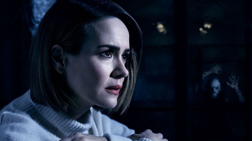 Fx S American Horror Story Cult Mixes A Strange Yet Predictable Brew Of Manson Creepiness Election Mania Los Angeles Times