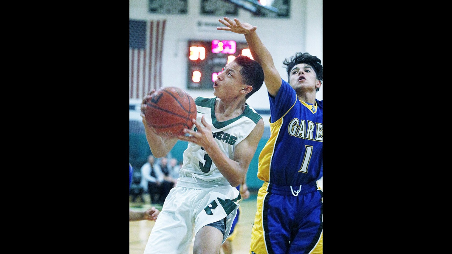 Photo Gallery: Providence boys' basketball in first-round CIF playoff against Garey