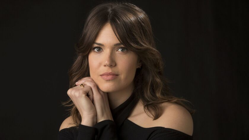 """Actress-singer Mandy Moore stars in the NBC's breakout freshman drama """"This Is Us."""""""