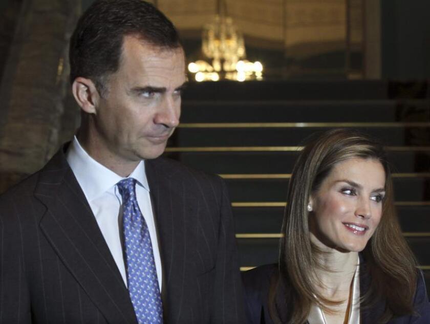 Los reyes Felipe IV y Letizia visitarán EEUU. EFE/Archivo