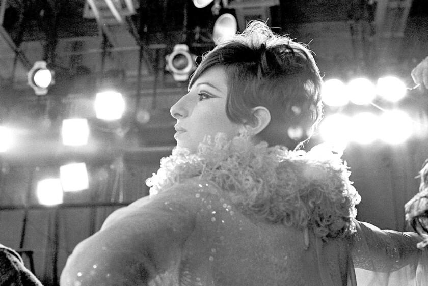 "Barbra Streisand in the 1966 musical special ""Color Me Barbra."""