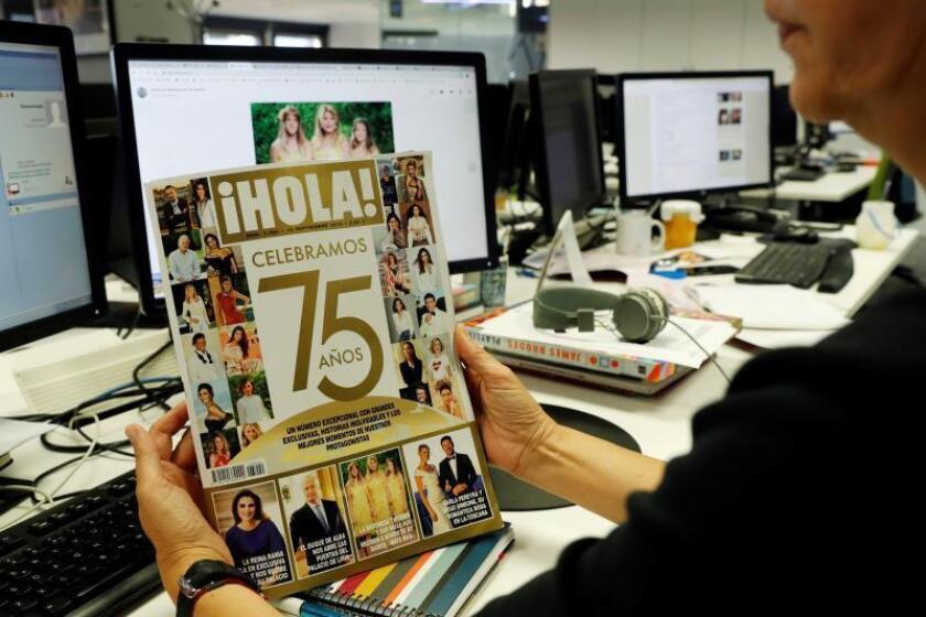 La revista ?Hola! celebra su 75 aniversario con una edición especial